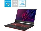 G512LI-I5G1650T ゲーミングノートパソコン ROG Strix G15 ブラック [15.6型 /intel Core i5 /SSD:512GB /メモリ:8GB /2020年7月モデル]