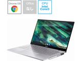 ノートパソコン Chromebook (クロームブック) Flip(コンバーチブル型) エアロジェルホワイト C436FA-E10161 [14.0型 /intel Core i3 /SSD:128GB /メモリ:8GB /2020年10月モデル]