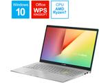 ノートパソコン VivoBook S15 ガイアグリーン M533IA-BQ0GRT [15.6型 /AMD Ryzen 7 /SSD:1TB /メモリ:16GB /2020年9月モデル]