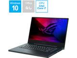 【店頭併売品】 GU502LU-I7G1660TBKS ゲーミングノートパソコン ROG Zephyrus M15 グレー [15.6型 /intel Core i7 /SSD:512GB /メモリ:16GB /2020年9月モデル]