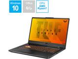 FA706II-R7G1650TBKS ゲーミングノートパソコン TUF Gaming A17 ボンファイヤ・ブラック [17.3型 /AMD Ryzen 7 /SSD:512GB /メモリ:16GB /2020年8月モデル]