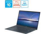 ノートパソコン ZenBook 14 UM425IA パイングレー UM425IA-AM016TS [14.0型 /AMD Ryzen 7 /SSD:512GB /メモリ:16GB /2020年9月モデル]
