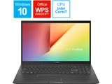 ノートパソコン VivoBook 15 インディーブラック K513EA-BQ614T [15.6型 /intel Core i7 /HDD:1TB /SSD:256GB /メモリ:8GB /2020年12月モデル]