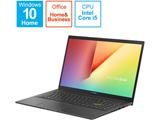 【店頭併売品】 ノートパソコン VivoBook 15 K513EA インディーブラック K513EA-BC158TS [15.6型 /intel Core i5 /SSD:512GB /メモリ:8GB /2021年1月モデル]