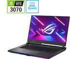 【店頭併売品】 G513QR-R9XR3070ECG ゲーミングノートパソコン ROG Strix G15 G513QR エクリプスグレー [15.6型 /AMD Ryzen 9 /メモリ:16GB /SSD:1TB /2021年7月モデル]