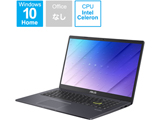 ノートパソコン ASUS E510MA スターブラックメタル E510MA-EJ200T [15.6型 /intel Celeron /eMMC:128GB /メモリ:4GB /2021年2月モデル]