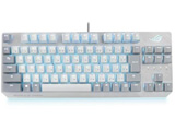 Moonlight White 有線 ゲーミングキーボード 日本語配列 X806 STRIX SCOPE NX TKL ML/NXRD/JP   ROGSTRIXSCOPENXMLNXRDJP