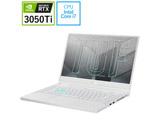 FX516PE-I7R3050TW ゲーミングノートパソコン TUF Dash F15 FX516PE ムーンライトホワイト [15.6型 /intel Core i7 /メモリ:16GB /SSD:1TB /2021年7月モデル]