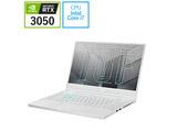 FX516PC-I7R3050W ゲーミングノートパソコン Dash F15 FX516PC ムーンライトホワイト [15.6型 /intel Core i7 /メモリ:16GB /SSD:512GB /2021年8月モデル]