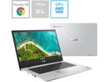 ASUS(エイスース) ノートパソコン Chromebook Flip CM1(CM1400) トランスペアレントシルバー CM1400FXA-EC0010 [14.0型 /メモリ:8GB /eMMC:64GB /2021年10月モデル]