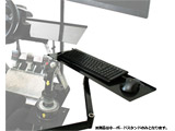 NLR-A002 Racing Keyboard Stand 【Next Level Racing】【ゲーミングシートオプション】