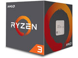 〔CPU〕 AMD Ryzen 3 3100 With Wraith Stealth cooler (4C8T,3.6GHz,65W)   100-100000284BOX