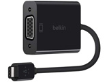 F2CU037BTBLK belkin USB-C to VGA アダプター