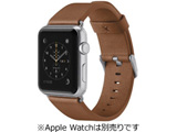 Classic Leather Band for Apple Watch 42mm Tan F8W732btC01