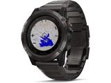 fenix 5X Plus Sapphire Ti Black 010-01989-70 Black