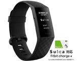 【Suica対応】 Fitbit Charge4 GPS搭載フィットネストラッカー Black/Black L/Sサイズ  ブラック FB417BKBK-JP