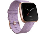 Fitbit フィットビット スマートウォッチ Versaスペシャルエディション Lavender Woven L/Sサイズ FB505RGLV-CJK ラベンダー/ローズゴールド