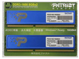 PSD316G1600KH (240pin/DDR3/PC3-12800-8GBx2)