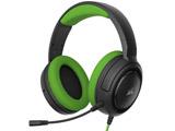 PC/PS4/Nitendo Switch/Xbox One対応 ゲーミングヘッドセット HS35 Stereo Green (CA-9011197-AP) CA-9011197-AP