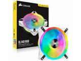 RGBケースファン ホワイトカラー   CO-9050105-WW