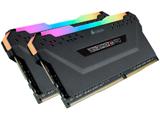 増設メモリ VENGEANCE RGB PRO ブラック CMW32GX4M2D3600C18 [DIMM DDR4 /16GB /2枚]
