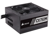 CORSAIR CX Series CX750M CP-9020061-JP (80PLUS BRONZE認証取得 750W電源ユニット)