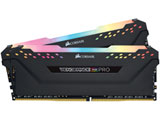 増設メモリ CMW16GX4M2C3200C16 ブラック [DIMM DDR4 /8GB /2枚]