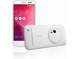 [LTE対応]SIMフリー Android 5.0スマートフォン「ZenFone Zoom プレミアムレザー ホワイト」 5.5型(メモリ/eMMC:4GB/64GB) ZX551ML-WH64S4