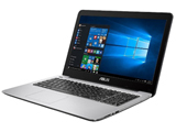 15.6型ノートPC ASUS VivoBook X556UA-7500 [Core i7-7500U 2.7GHz/1920×1080/8GB DDR4-2133]