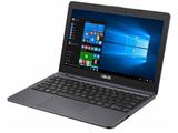 11.6型ノートPC[Office付き・Win10 Home・Celeron・HDD 500GB・メモリ 4GB] VivoBook E203NAH スターグレー E203NAH-FD009TS