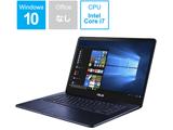 ノートPC ZenBook Pro UX550VD-7700 [Core i7・15.6インチ・SSD 512GB・16GB ]