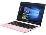 【在庫限り】 モバイルノートPC VivoBook E203NA-464P ペタルピンク [Win10 Home・Celeron・11.6インチ・eMMC 64GB・メモリ 4GB]
