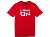 ROG Tシャツ-GAME ON レッド (Mサイズ)