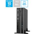 デスクトップPC Workstation ESC500 G4 SFF-12256002E-J ブラック [Win10 Pro・Xeon・メモリ 8GB・HDD2TB+SSD256GB]