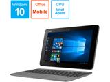 モバイルノートPC TransBook T101HA-G128 グレーシアグレー [Win10 Home・Atom x5・10.1インチ・Office付き・eMMC 128GB・メモリ 4GB]
