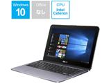 モバイルノートPC VivoBook Flip 12 TP203NA-GREY スターグレー [Celeron・11.6インチ・eMMC 64GB・メモリ 4GB]