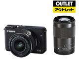 【アウトレット】 EOS M10 ダブルズームキット ブラック [キヤノンEF-Mマウント] ミラーレス一眼カメラ