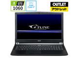 【在庫限り】【アウトレット】 ゲーミングノートPC G-TUNE BCGN5I77HQM8S2H1G16 [Core i7・15.6インチ・メモリ 8GB・GTX1060]