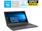 【アウトレット】 ノートPC HP 250 G6 1RR55PA#ABJ [Core i3・15.6インチ・HDD 500GB・メモリ 4GB]