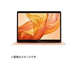 MacBook Air 13インチRetinaディスプレイ USキーボード [2018年 /SSD 256GB /メモリ 8GB /1.6GHzデュアルコアIntel Core i5] ゴールド MREF2J/AUSCTO