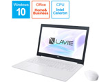 【アウトレット】 ノートPC LAVIE Direct NS PC-GN11FJRCDCHDD1TDA [Celeron・15.6インチ・Office付き・HDD 500GB・メモリ 8GB]