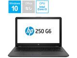 【アウトレット】 ノートPC HP 250 G6 4WD76PA-AAAK [Core i3・15.6インチ・HDD 500GB・メモリ4GB]