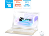 ノートPC NEC LAVIE Direct NS PC -GN18CRSSDC5BD5TDA [Celeron・15.6インチ・500GB・メモリ4GB]