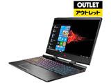 【アウトレット】 ゲーミングノートPC OMEN by HP 15-dc0076TX 4PA17PA-AAAB [Win10 Pro・Core i7・15.6インチ・メモリ 16GB・GTX1060]