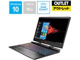 【数量限定品】 ゲーミングノートPC OMEN by HP 15-dc0077TX 4PA21PA-AAAF [Win10 Pro・Core i7・15.6インチ・メモリ 16GB・GTX1070] 〓メーカー保証あり〓