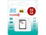 32GB・Class10対応 SDHCカード SD-CLASS10-32GB