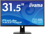 〔アウトレット品液晶〕 ProLite XB3270QS 31.5型ワイド LEDバックライト搭載液晶モニター [2560×1440(WQHD)/IPS/DisplayPort・HDMI・DVI-D]  マーベルブラック XB3270QS-B1 〓メーカー保証あり〓