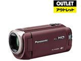 【アウトレット】 ビデオカメラ [フルハイビジョン対応] HC-W585M  ブラウン