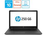 ノートPC HP 250 G6 4PA35PA-AAFE [Celeron・15.6インチ・Office付き・HDD 500GB・メモリ4GB]