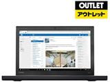 【アウトレット品】 モバイルノートPC ThinkPad X270 20HMA0W3JP [Win10 Pro・Core i5・12.5インチ・SSD 128GB・メモリ 4GB]